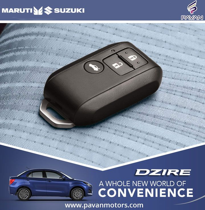 The Smart Keyless Entry lets you to begin your drives as