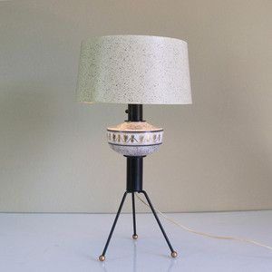Spaceship Lamp, $153, now featured on Fab. - mid-century cool ...