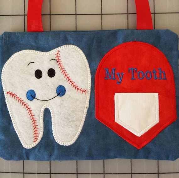 Boy Baseball Tooth Fairy Pillow by ChatterSceneInspires on Etsy #toothfairyideas