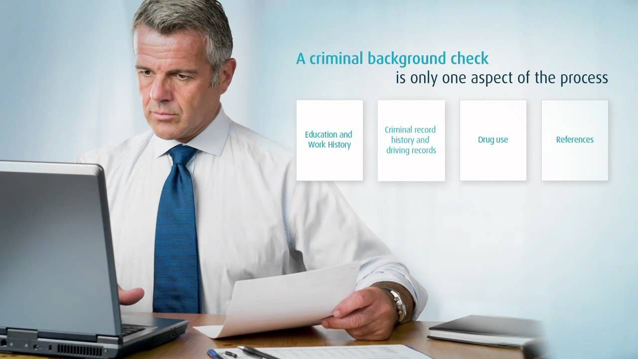 This video goes over the basics of background checks on