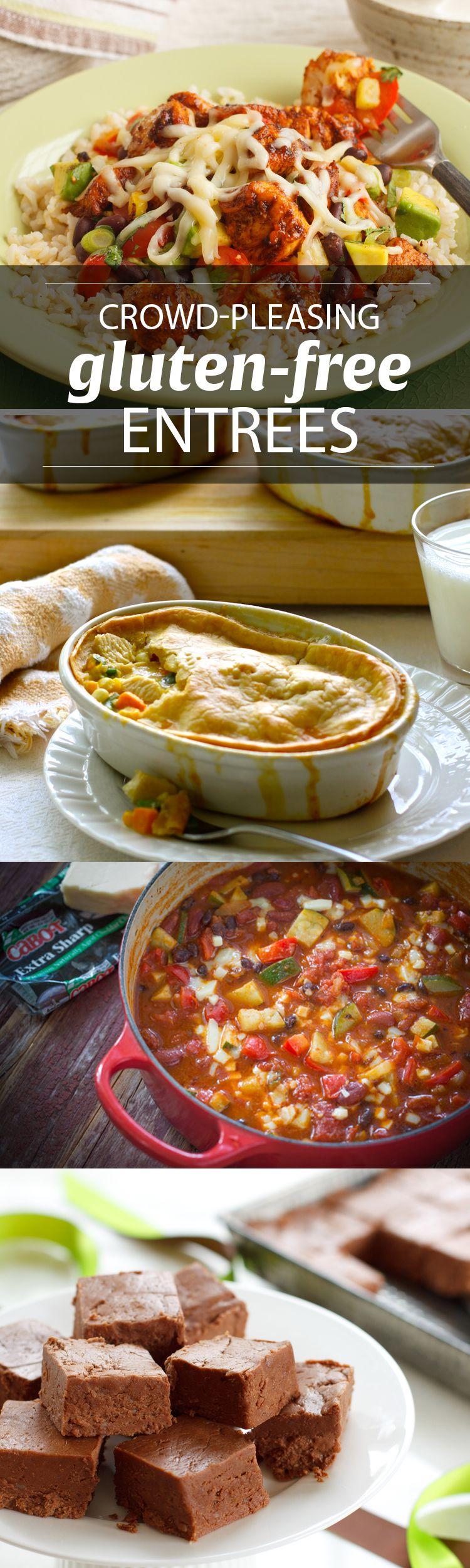 Crowdpleasing glutenfree entrees cabot creamery food