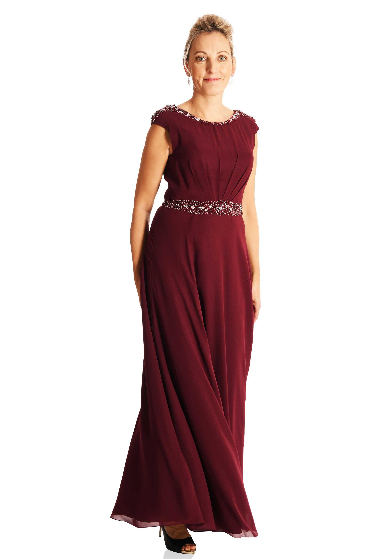 1e853816d515 Langes Kleid mit Glitzer in 2018   Mode für Brautmütter   Pinterest ...