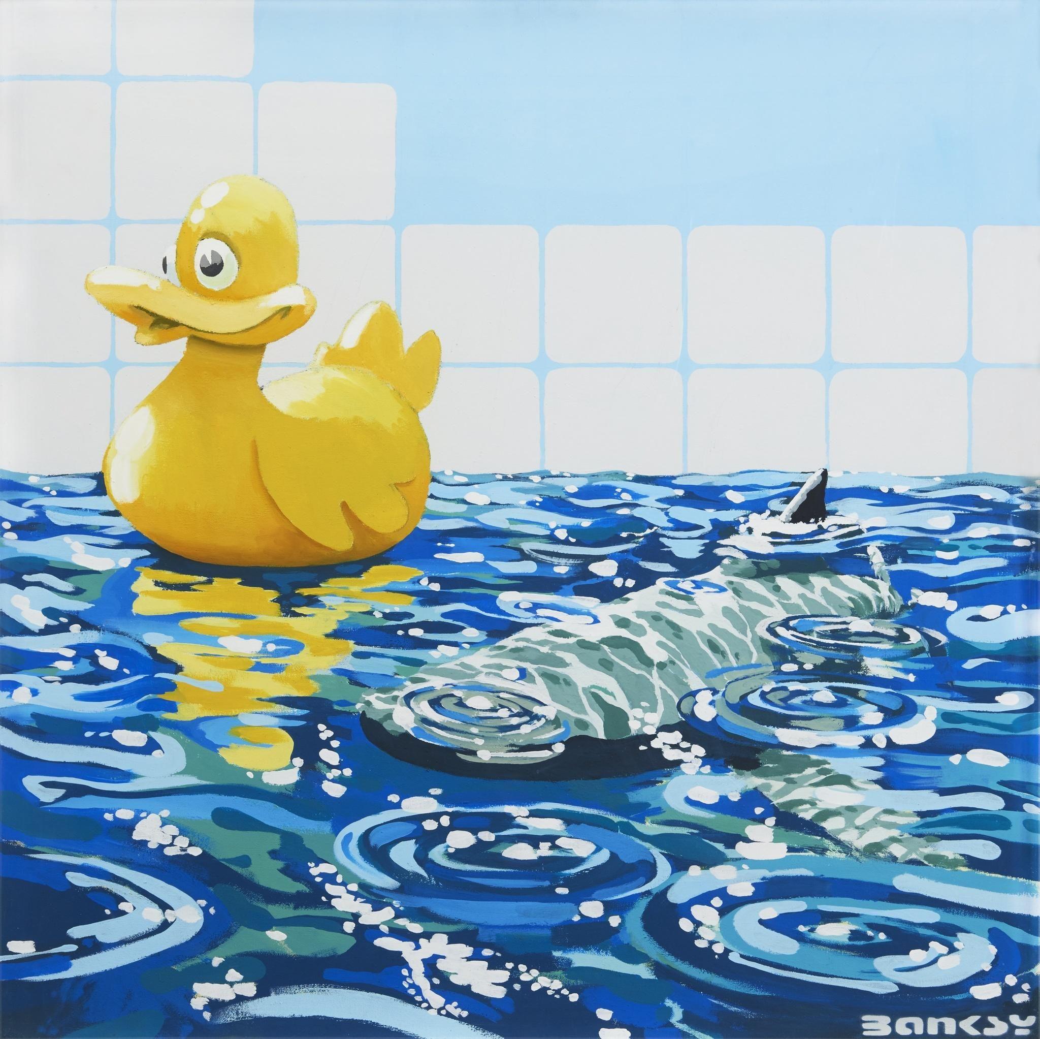 Rubber ducky - Banksy 2006 | Banksy | Pinterest | Banksy, Bansky and ...