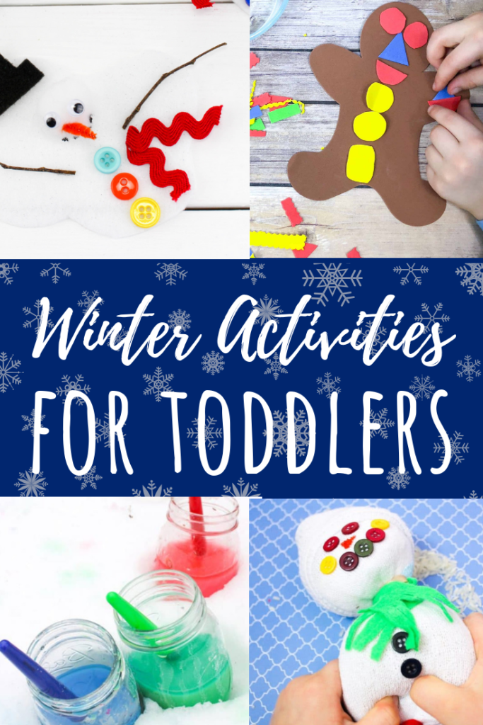 71a552364a72 Winter Activities for 1 Year Olds  Crafts