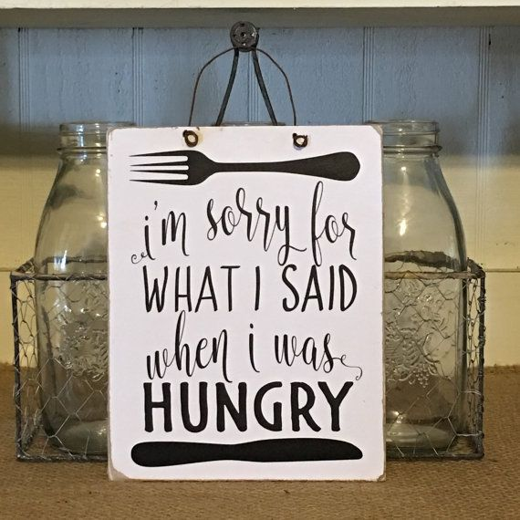 Kitchen Sign Funny Sign Kitchen Wall by ...