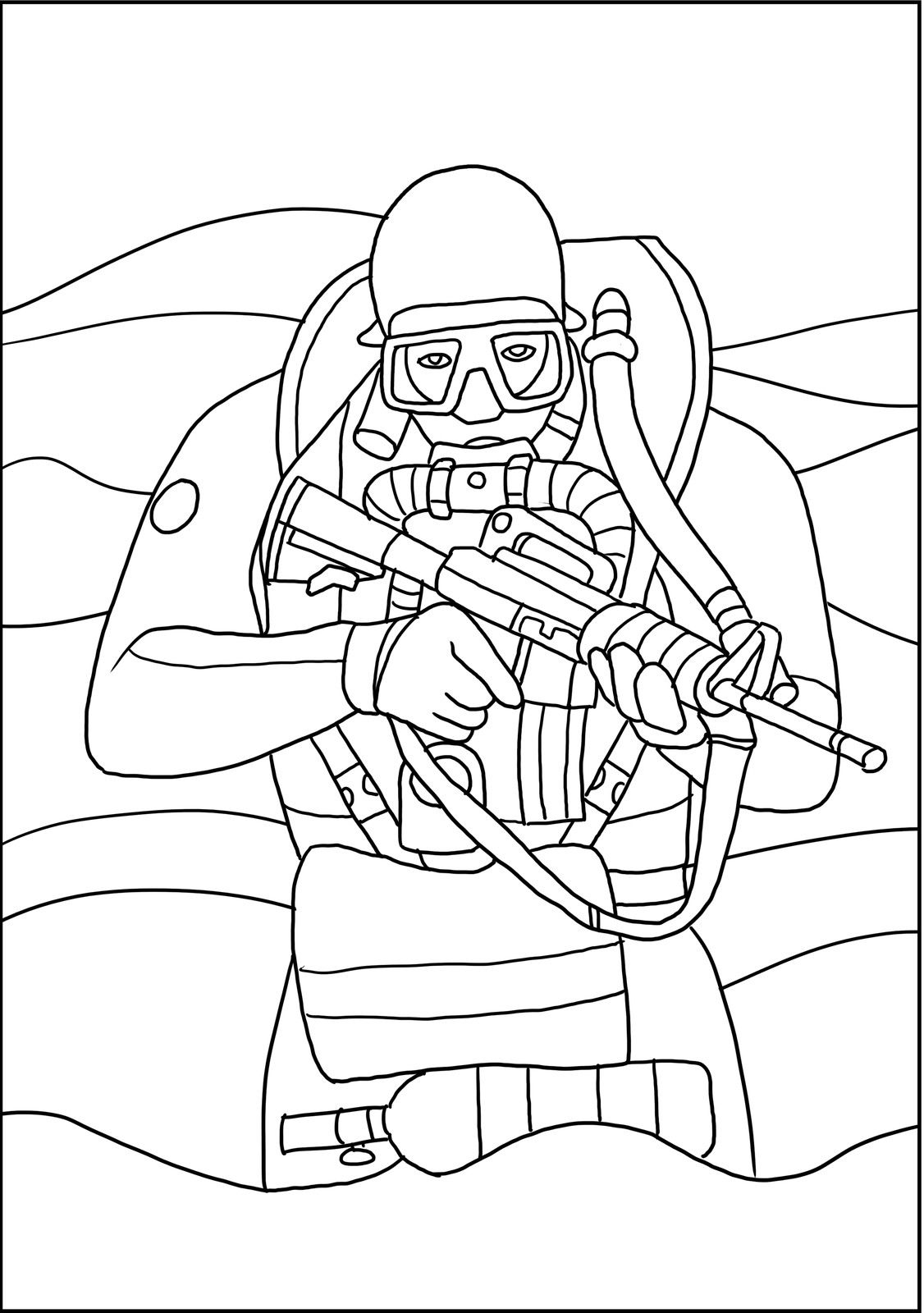 Navy Seals Military Coloring Book Coloring Books Coloring Pages Line Art Drawings