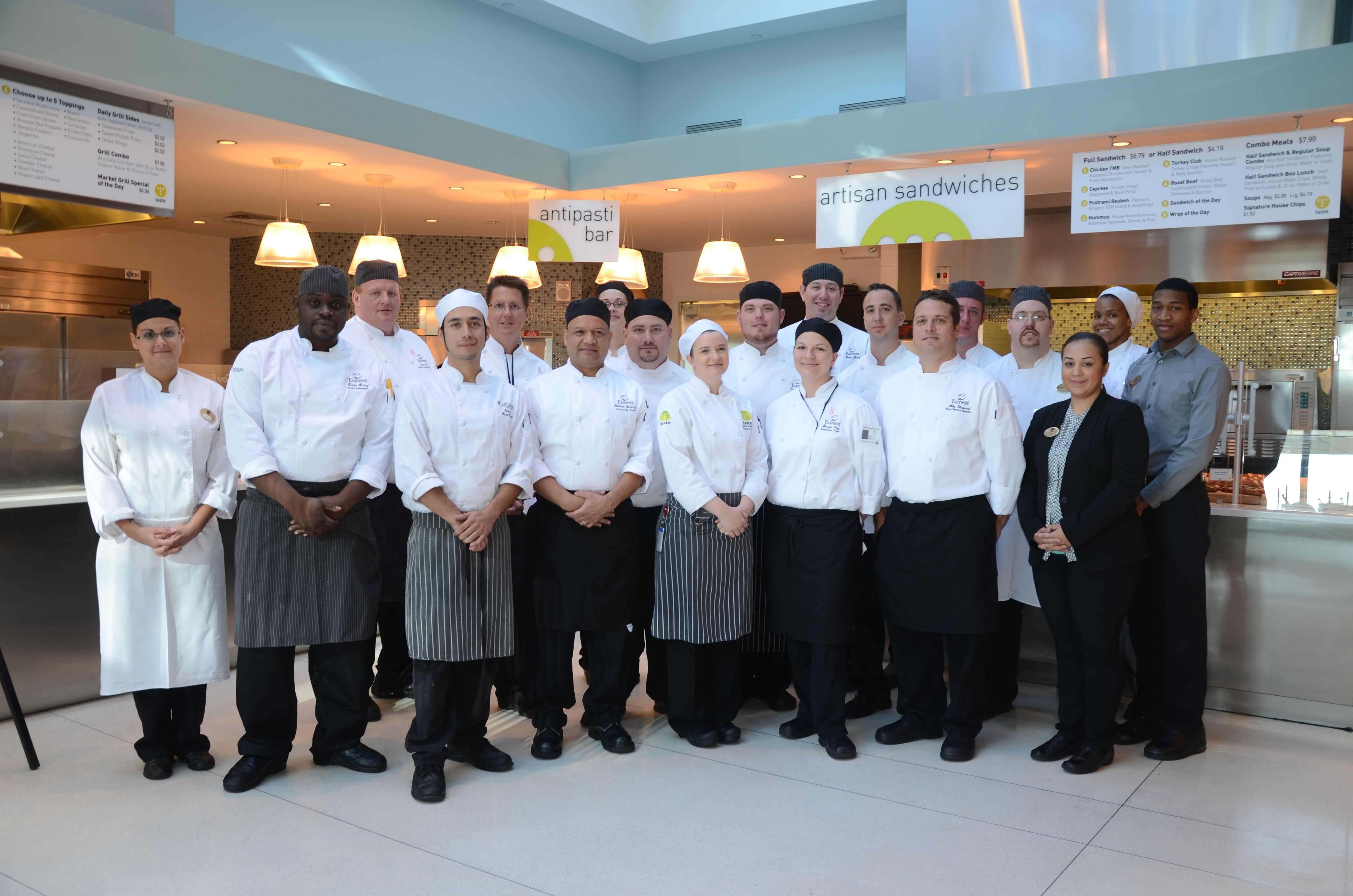 We are only as good as our staff and we are so proud of all the hard work they do nationwide! #inspirethroughfood #teamwork