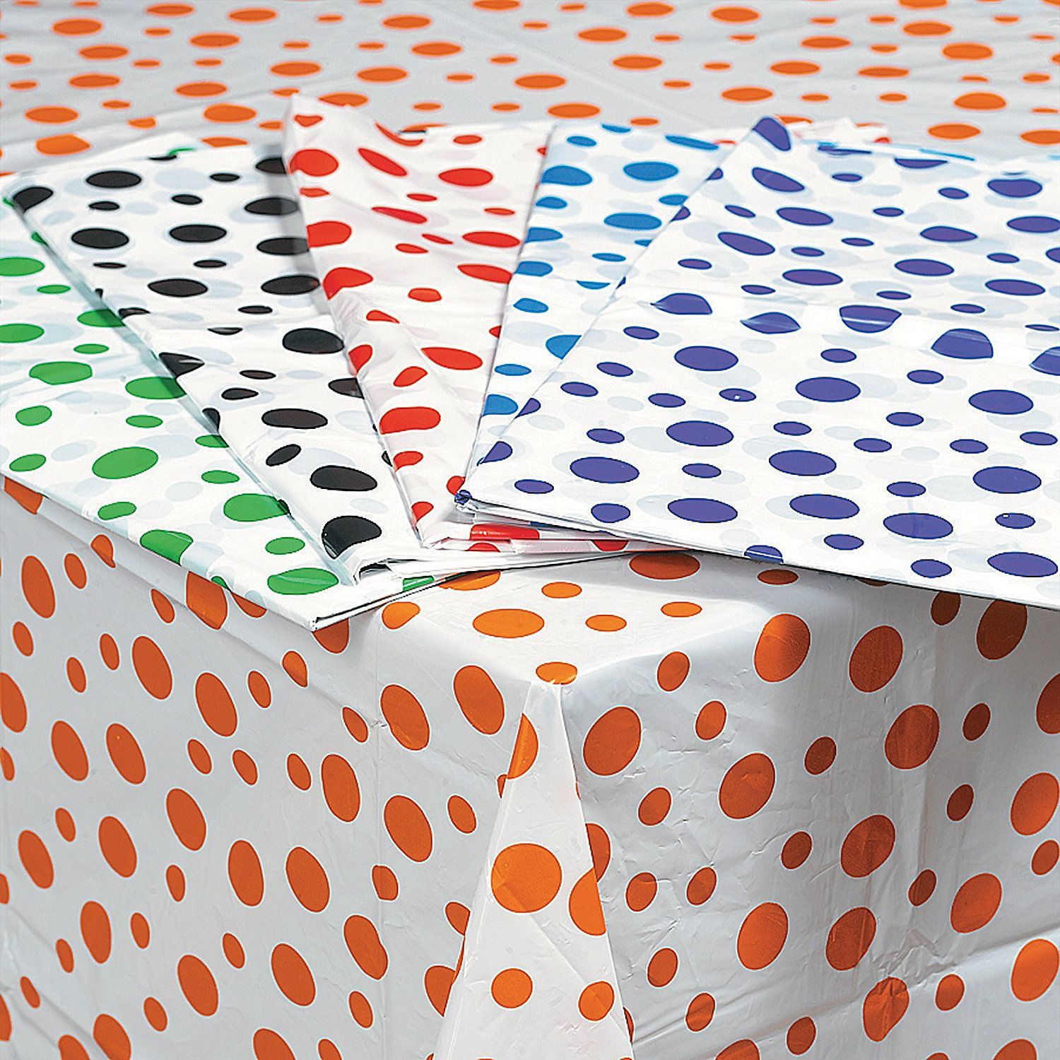 Polka Dot Tablecloths. Youu0027re Guaranteed To Have A Barrel Of Fun With Our