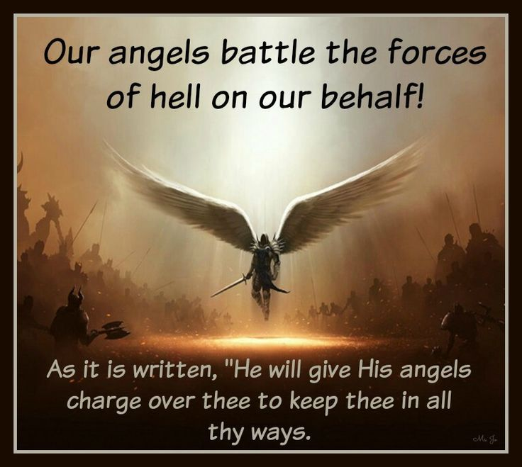 """As it is written, """"He will give His angels charge over thee to ..."""