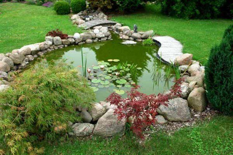 Idee D Amenagement De Jardin Avec Un Bassin Aquatique