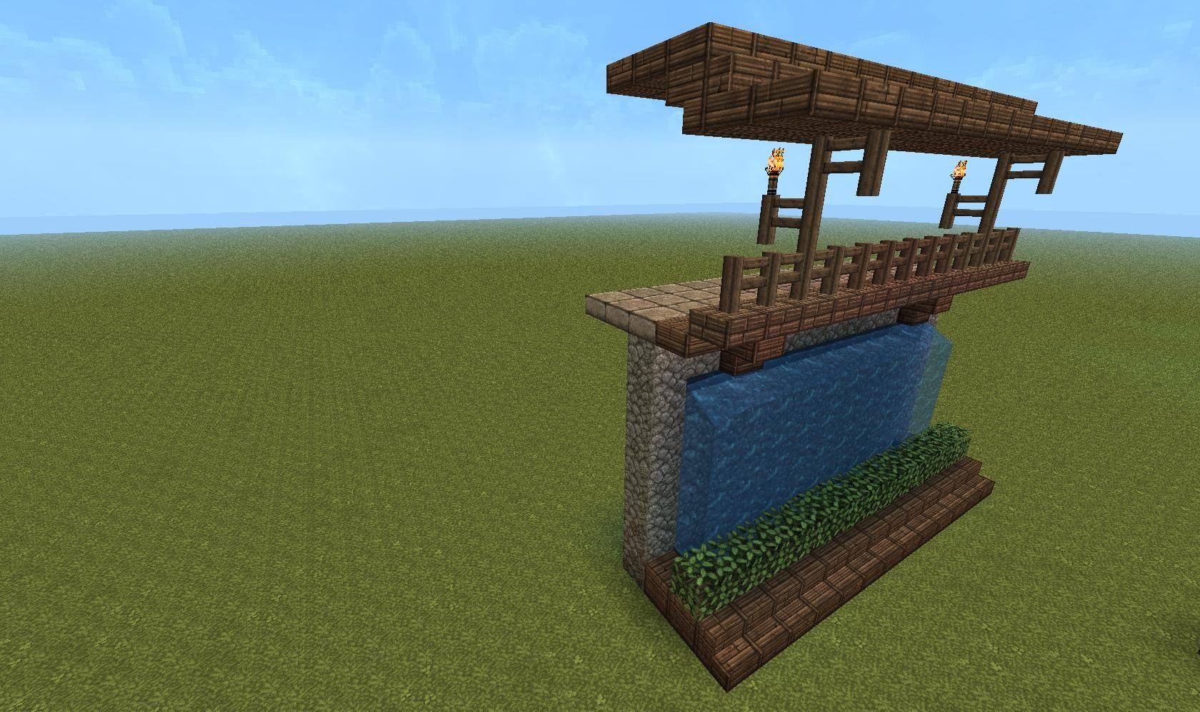 How to build walls detail minecraft brother for Minecraft interior wall designs