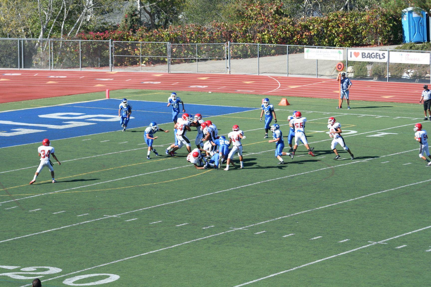 IMG_5920 Dana Hills freshman football vs Garden Grove