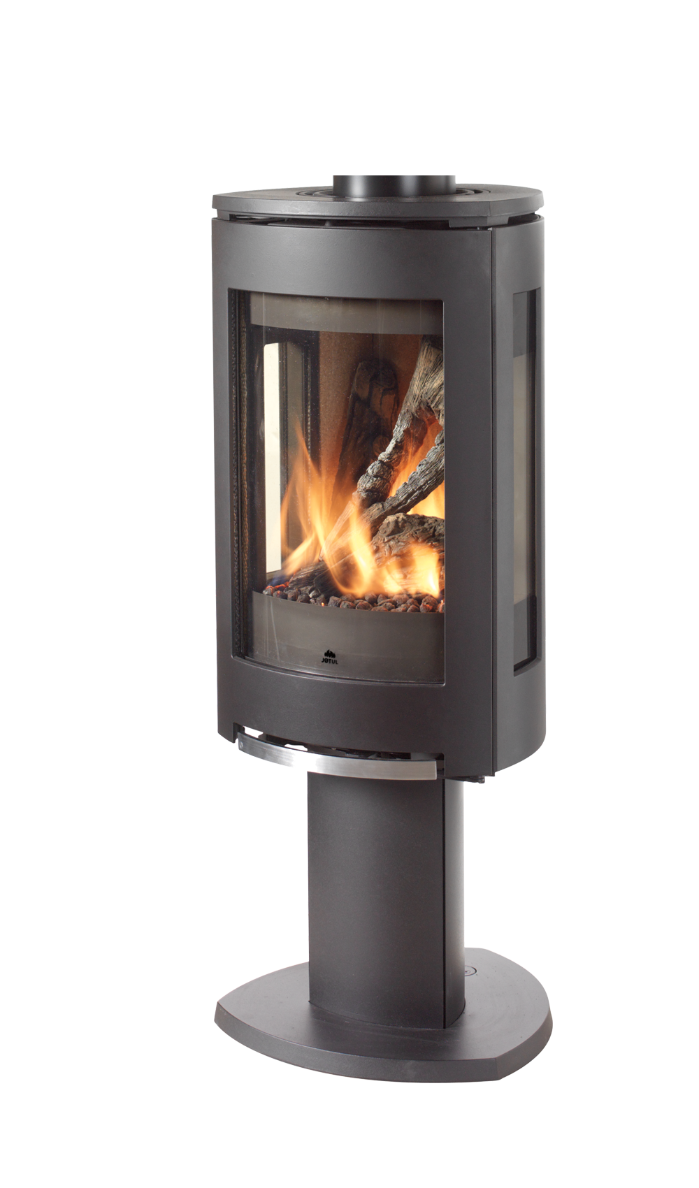 Jøtul Gf 370 Dv Ipi Freestanding Direct Vent Gas Stove Modern Free Standing Gas Stoves Free Standing Gas Standing Fireplace