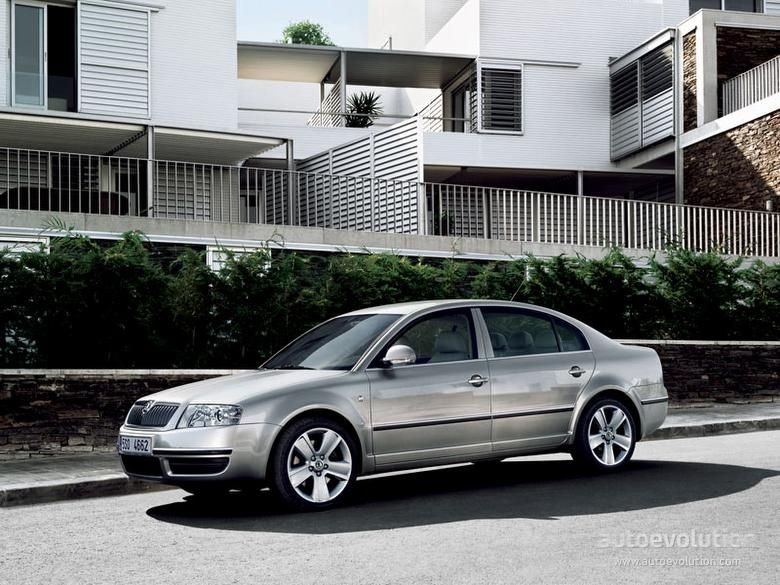 Skoda Superb Car Mk1