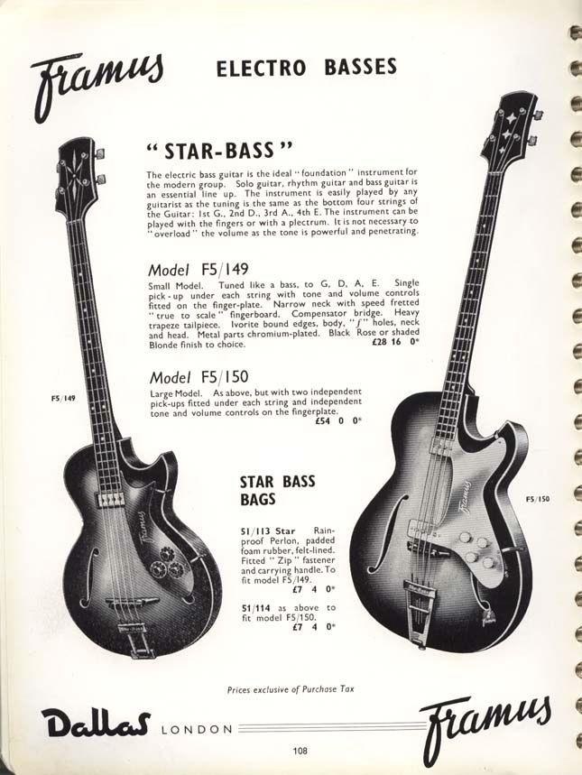 Framus Guitar Lessons Bass Guitar Guitar Books