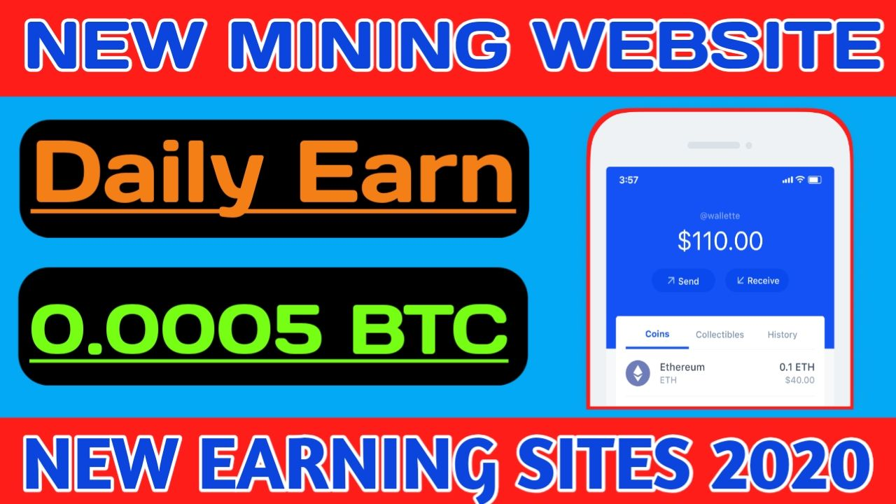 New Legit Earning Site 2020, Earn 10 Daily Without