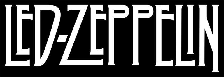 Font Of The Led Zeppelin Logo Led Zeppelin Logo Led Zeppelin Poster Led Zeppelin