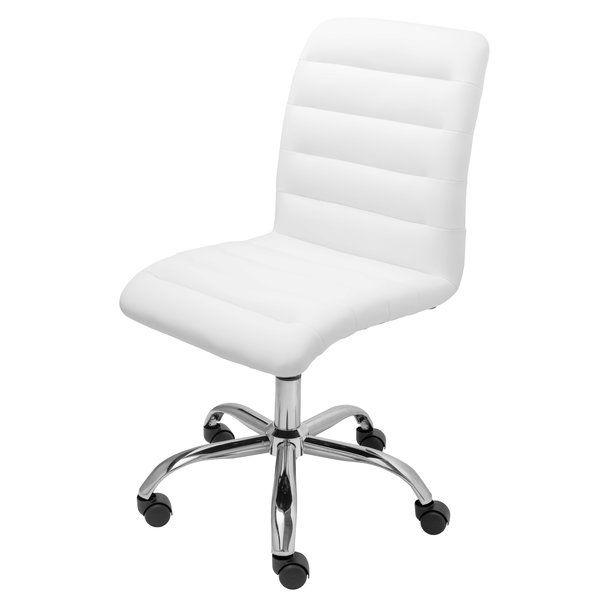 parkland mid back armless desk chair desks upholstery and modern