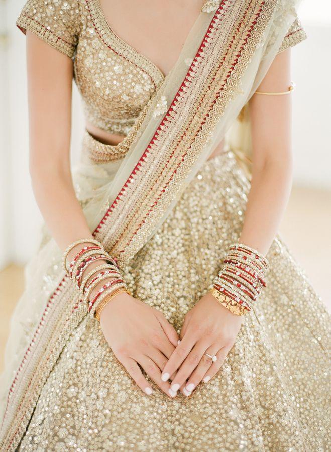 Modern Indian Wedding Inspired By A European Garden Indian Wedding Outfits Indian Bridal Wear Indian Wedding Dress