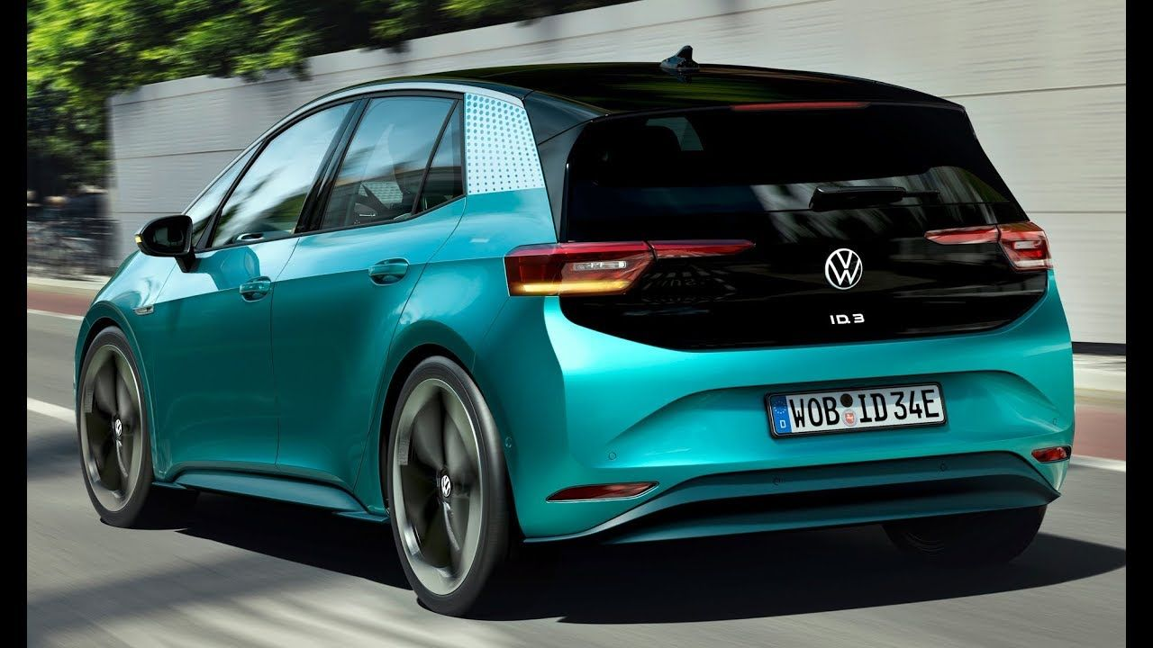 2020 Volkswagen Id 3 Interior Exterior And Drive Vw S Electric Revolu Volkswagen Compact Cars Navigation System