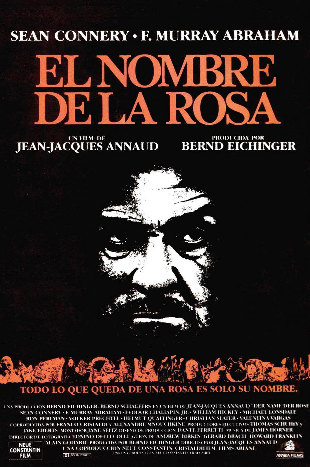 Der Name Der Rose 1986 In 2020 Las Rosas Film Life Of Crime