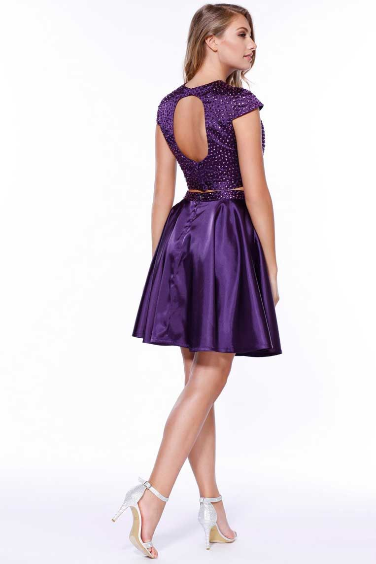 Two Piece Cocktail/Party Dress | Cocktail Dresses | Pinterest