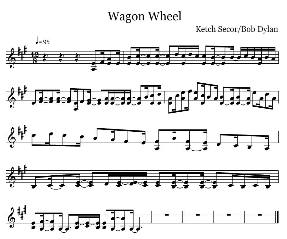 Wagon Wheel - Fiddle | projects | Pinterest | Wagon wheels, Wheels ...