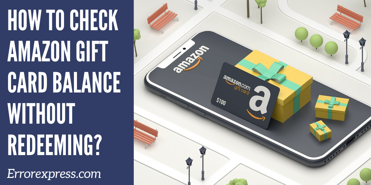 Want To Know How To Check Amazon Gift Card Balance Without Redeeming Here Is The Complete Process Know Also Gift Card Balance Amazon Gift Cards Amazon Gifts