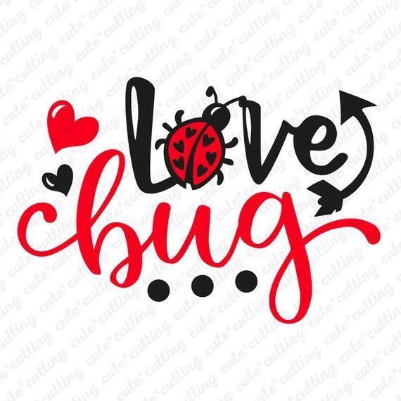 Download Love bug svg Ladybug svg Valentine svg Valentines day svg ...