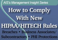 How To Comply With New Hipaa Hitech Rules Nursing Home Insight