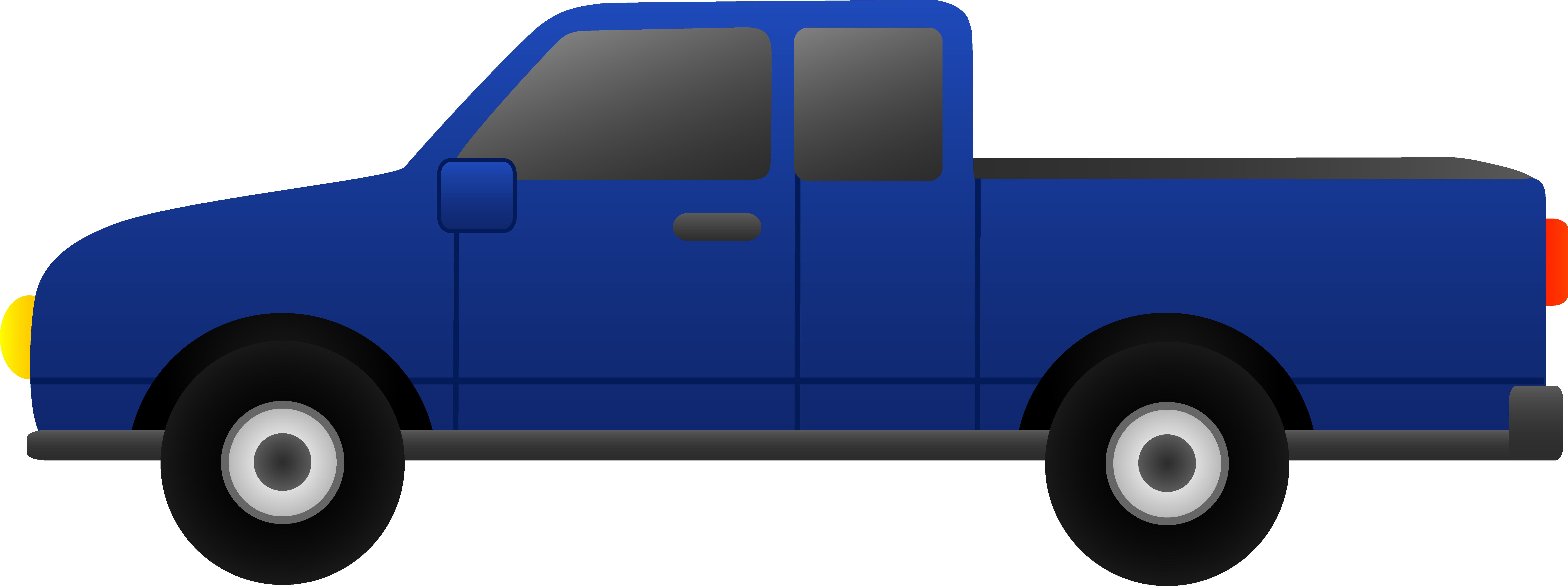 Blue Pickup Truck Clip Art Clip Art Art Cars Pickup Trucks