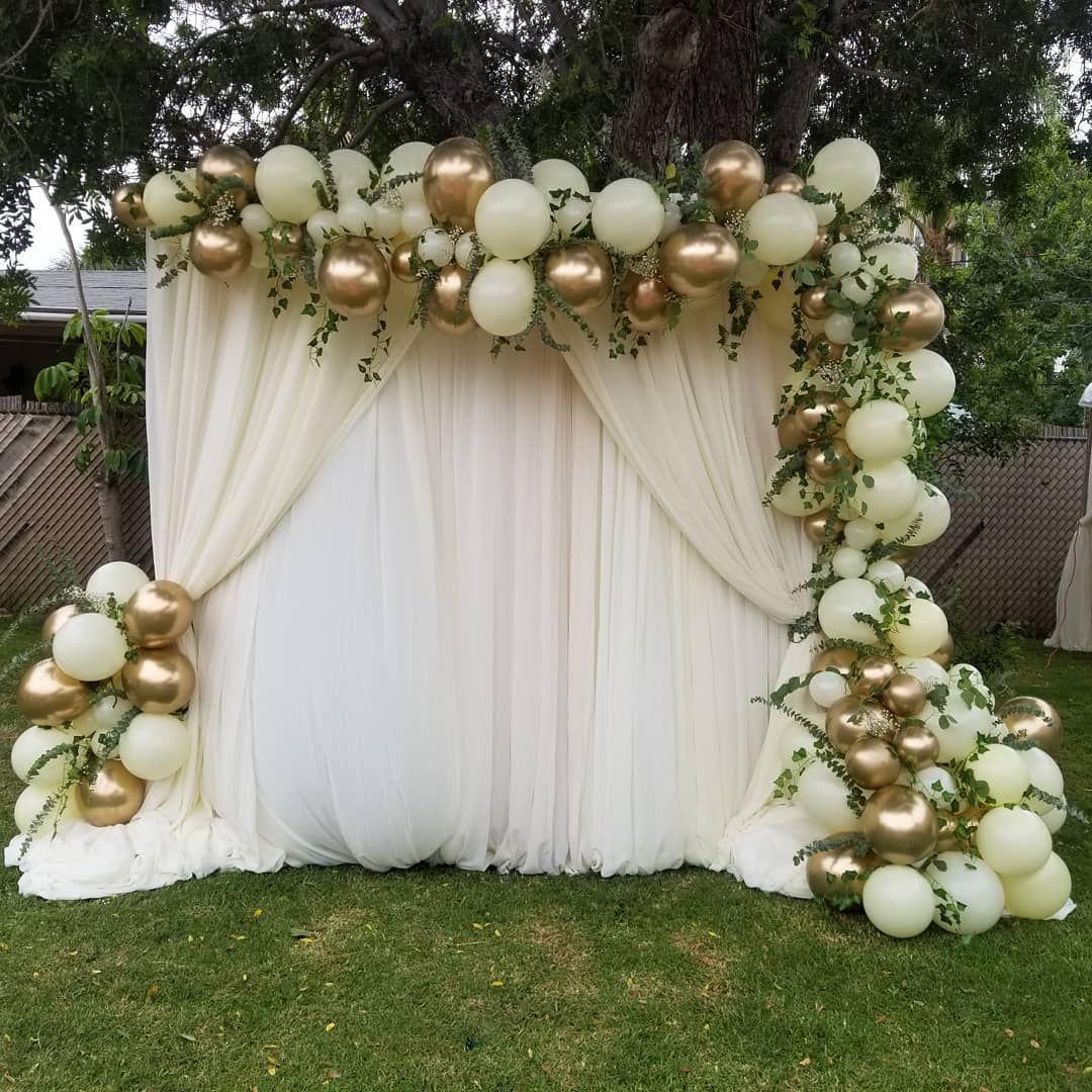 Leslie Hicks On Instagram Wedding Weddingvibes Weddings Wecandoitall Weddingdress Balloongarlandclass Ba In 2020 Wedding Balloons Balloons Wedding Decorations