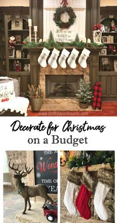 easy and inexpensive ways to decorate your home for christmas when you are on a tight budget lots of great ideas and inspiration