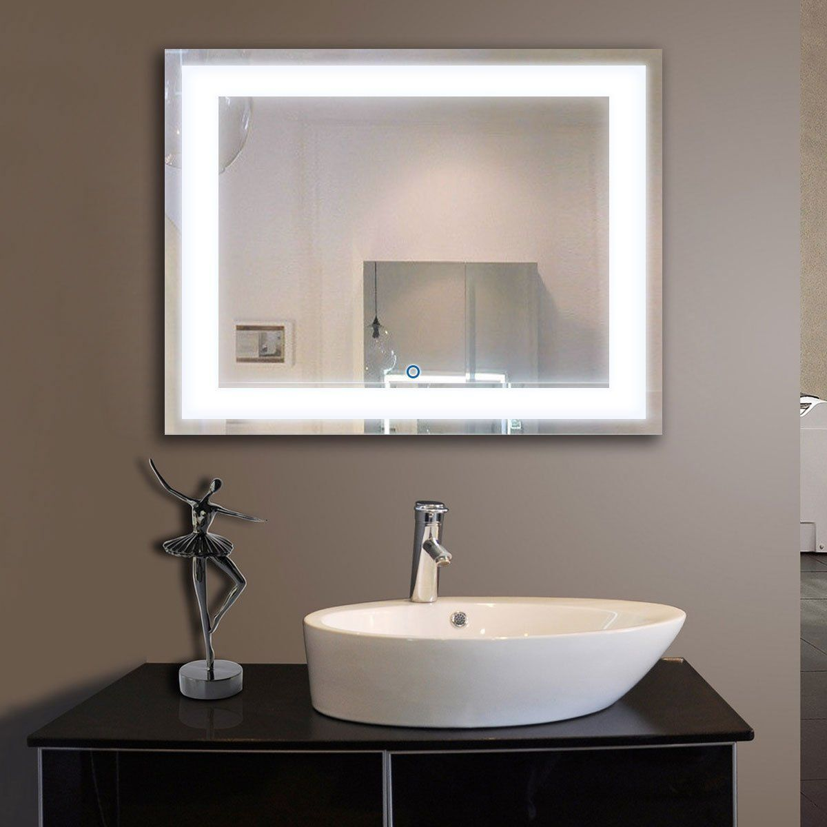 Decoraport inch inch horizontal led wall mounted lighted