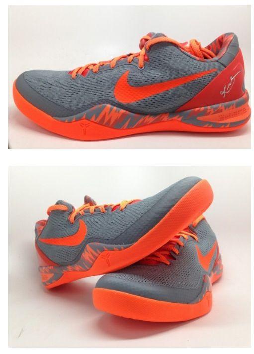 competitive price 548c5 0ff7d ... germany grey orange nike kobe 8 pp 914f6 1239b