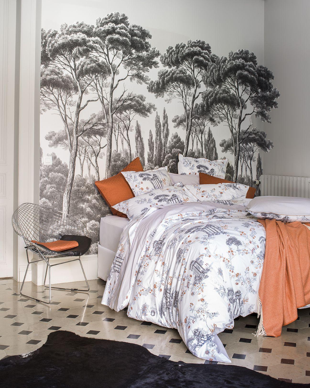 Alexandre turpault linge de maison via antiqua pour la décoration de votre chambre bedlinen collection