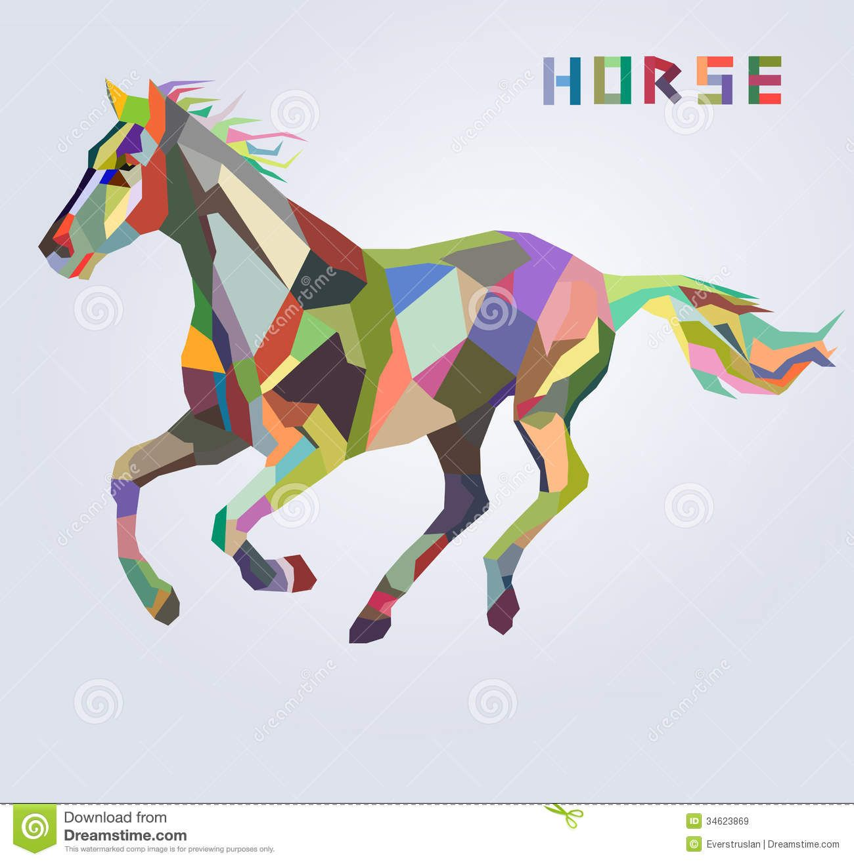 horse graphic d...