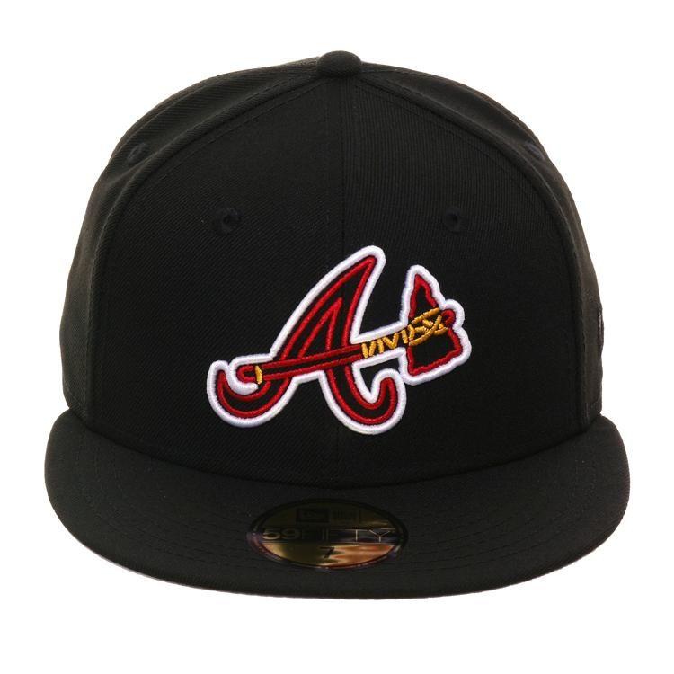Exclusive 59fifty Atlanta Braves Neon Hat Black 40 00 Atlanta Braves Atlanta Braves Baseball Braves