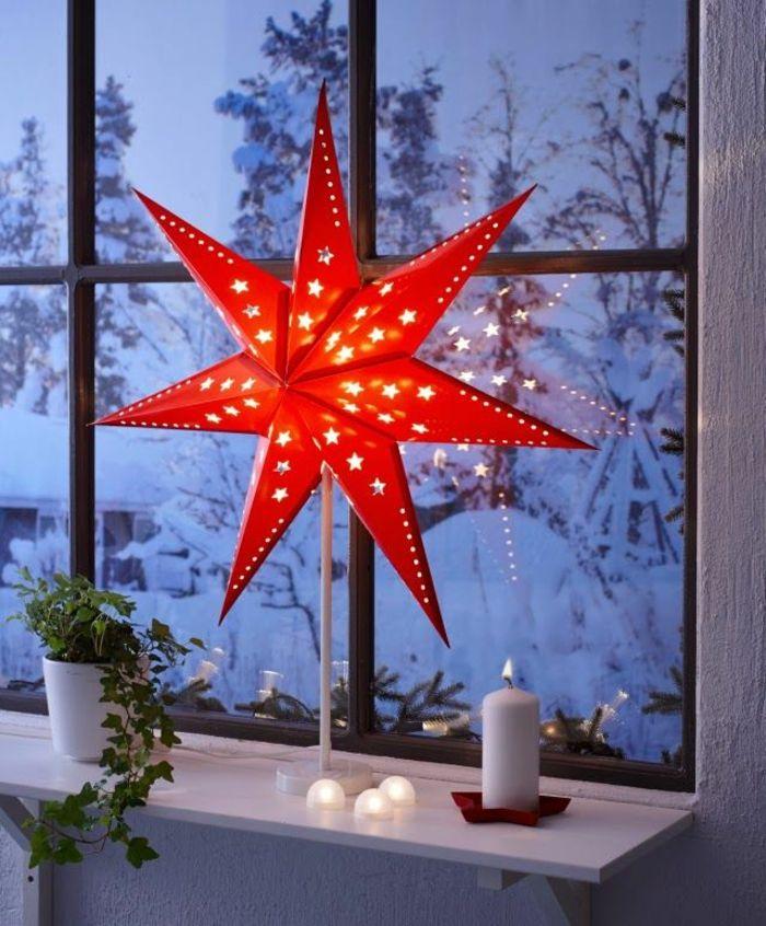 stern #weihnachtsstern als #weihnachtsbeleuchtung für #garten oder ...