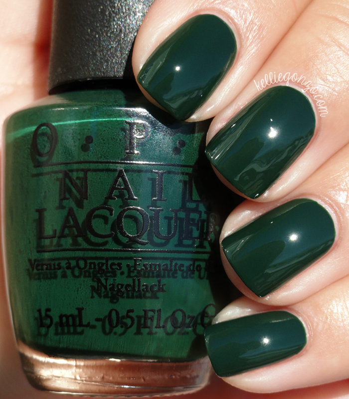 OPI - Christmas Gone Plaid // kelliegonzo.com | Christmas nails ...