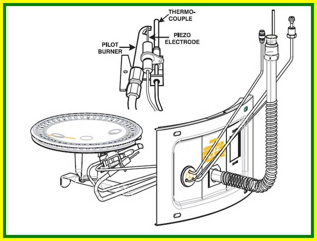 112 reference of pilot light burner hot water in 2020