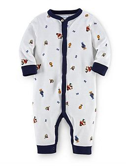 Baby Boys Cotton Coverall | Lord and Taylor