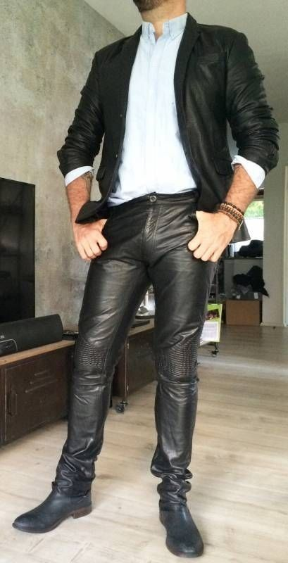 Leatherblazermen Mens Leather Pants Leather Pants Mens Leather Clothing
