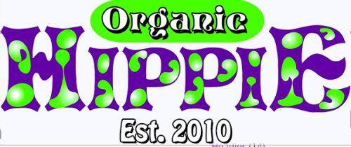 Organic Hippie Free Sticker - US