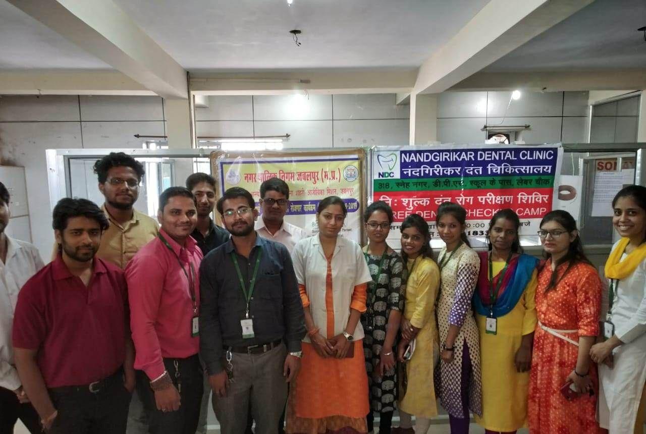 Free Dental checkup camp was conducted by Sona Yukti