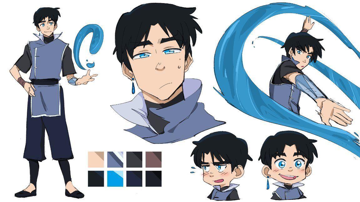 Photo of Anime Custom Portrait | ATLA Anime couple portrait | Cartoon portrait | Digital anime portrait from your photo | Avatar Portrait | Family