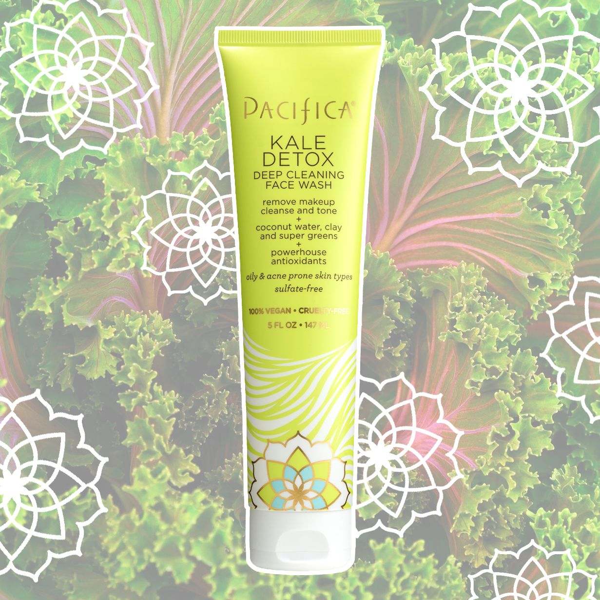 Pacifica Kale Detox Deep Cleansing Face Wash 5 fl oz in