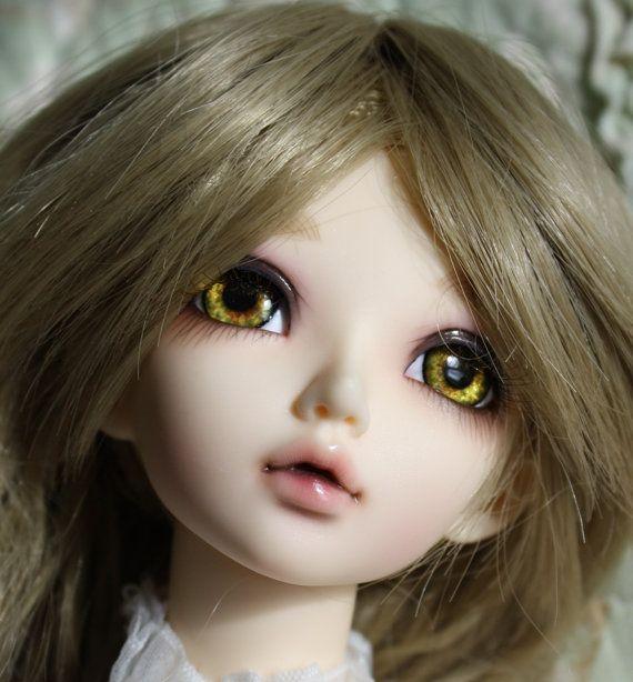 Hand Made 8-24mm Pink Glass Eyeball BJD Doll Dollfie Reborn Making Crafts PF