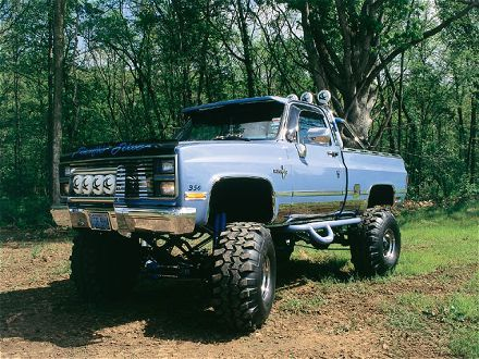 Chevrolet 4x4 truck | Heavy Metal | Camiones chevy, Chevy ...
