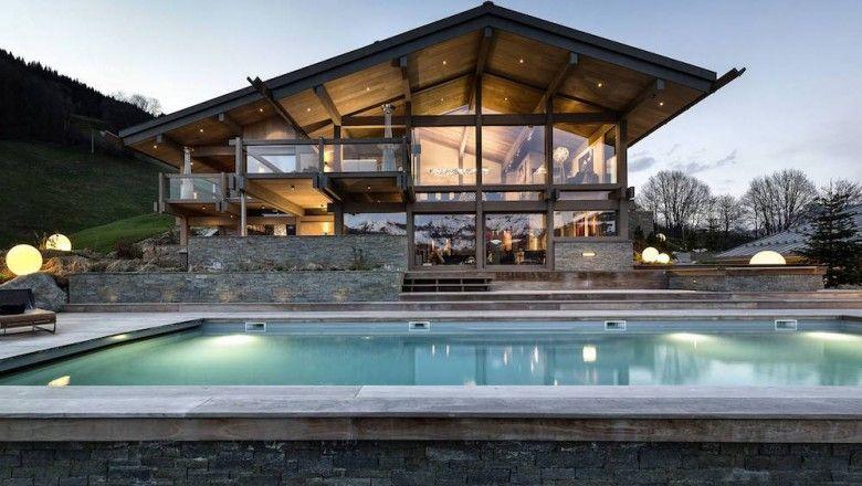 Le chalet Mont Blanc, une demeure de luxe en pleine montagne ...